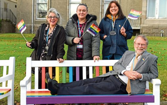 NHS Grampians Pride is leading way for LGBT